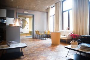 Een restaurant of ander eetgelegenheid bij Hotel d'Alcantara