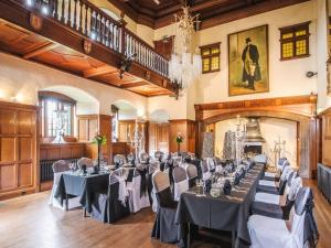 A restaurant or other place to eat at Dalston Hall Country House Hotel