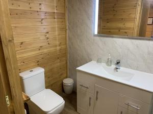 A bathroom at Southernwood - Garden Lodge 9