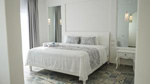 Cama o camas de una habitación en New! Hotel Mediterráneo Tulum