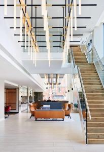 The lobby or reception area at Hyatt Regency Manchester