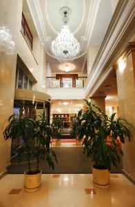 Лобби или стойка регистрации в Гостиница Белгород