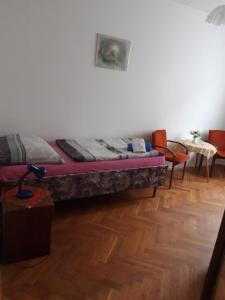 Postel nebo postele na pokoji v ubytování Europension