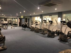 The fitness center and/or fitness facilities at The Beeches Hotel & Leisure Club