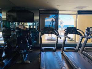 The fitness center and/or fitness facilities at Atlantic Apartment Spa and Resort