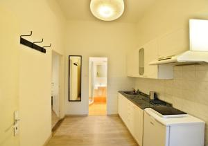 A kitchen or kitchenette at Central Spot Prague Apartments