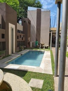 The swimming pool at or close to Taruca Apart