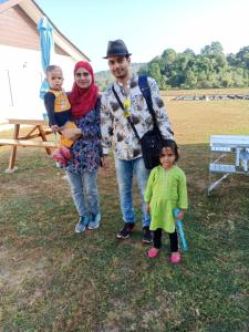 A family staying at Halcyon Days @ Langkawi