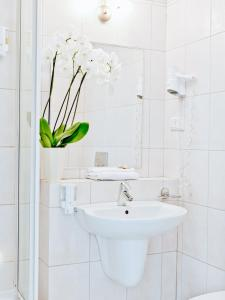 Ванная комната в Hotel Koloseum