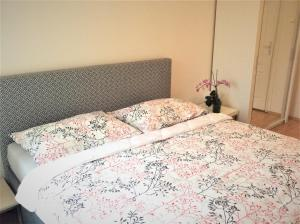 Postel nebo postele na pokoji v ubytování Penzion Eva Krnov