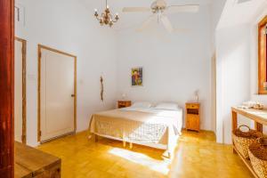 Cama ou camas em um quarto em B&B De Herberg