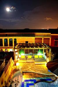 Vista de la piscina de Casa Logos Hotel Boutique o alrededores