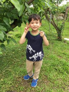 Children staying at Fairy Story Village Farm B&B