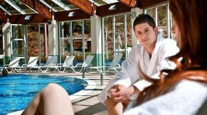 Piscina en o cerca de Lobios Caldaria Hotel Balneario
