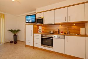 Küche/Küchenzeile in der Unterkunft Apart Gletscherblick