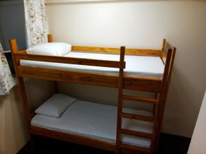 A bunk bed or bunk beds in a room at CITY Hostel KYIV