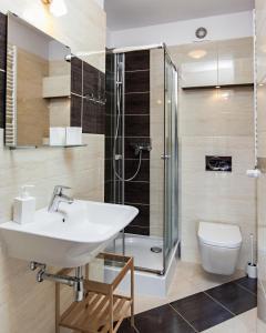 Łazienka w obiekcie Villa Apia