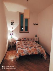 Letto o letti in una camera di Casarella Napulegna
