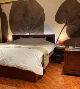 Hotel Venus Neoにあるベッド