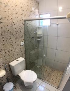 A bathroom at Pousada Paraíso Maragogi