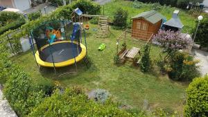 Children's play area at Apartments Marušić