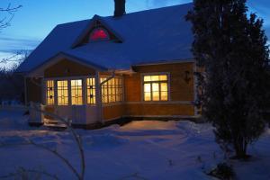 Leesi Külalistemaja talvel