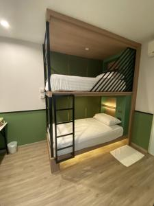 Litera o literas de una habitación en Adamaz House