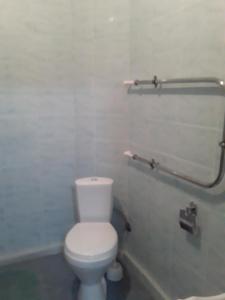 A bathroom at гнездышко 13