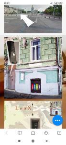 The floor plan of Hostel LEON Kiev