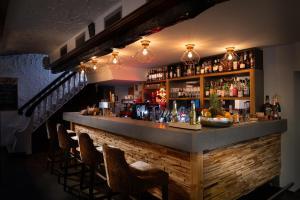The lounge or bar area at Landhotel Fettehenne