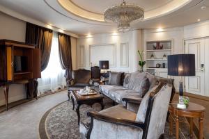 En sittgrupp på Wellington Hotel & Spa Madrid