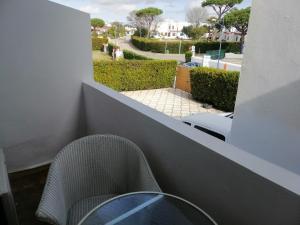 Un balcón o terraza de Hotel Matalascañas
