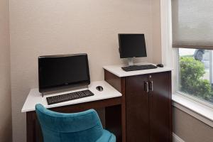 A television and/or entertainment center at Residence Inn Boston Dedham