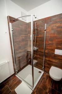 Ein Badezimmer in der Unterkunft Amethysthotel Mantler