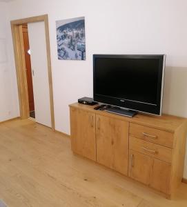TV/Unterhaltungsangebot in der Unterkunft Apartments Haus Morgensonne