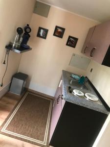 Küche/Küchenzeile in der Unterkunft Innahome