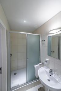 Een badkamer bij Hotel Onderbergen