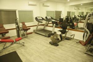Centrul de fitness și/sau facilități de fitness de la Anastasia Hotel - Half Board