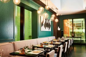 A restaurant or other place to eat at Novotel Melbourne Central
