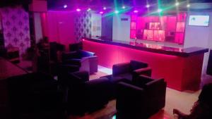 The lounge or bar area at Relax Cabaret