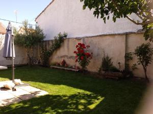 Jardín al aire libre en Casa Rural Las Barricas