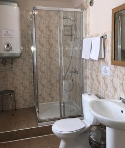 Ванная комната в Mini-hotel Astra