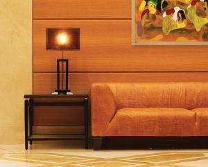 Ein Sitzbereich in der Unterkunft Divani Palace Larissa