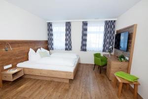 Posezení v ubytování Ferienbauernhof Köpf