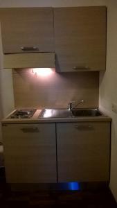 A kitchen or kitchenette at Bellaria Relais
