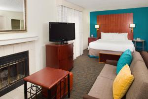 A television and/or entertainment centre at Residence Inn Ontario Airport