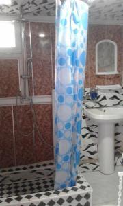 Um banheiro em Ilgar's Hostel