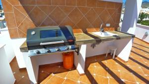 BBQ facilities available to guests at the villa