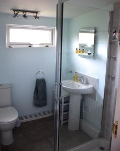 A bathroom at Tuck Mill Cottage