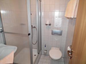 Ein Badezimmer in der Unterkunft Waldgasthof - Hotel Schiederhof